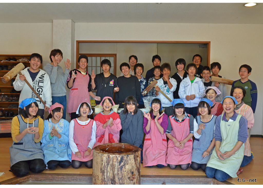 2011年冬の中学生楽園村感想文