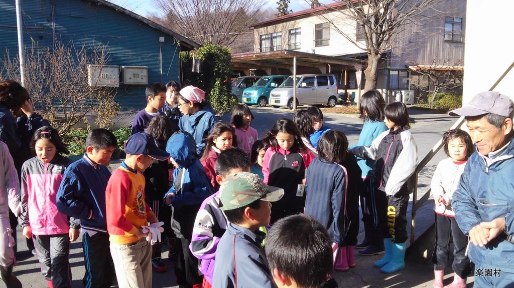 【岡部】2日目レポート 2012年 冬の楽園村