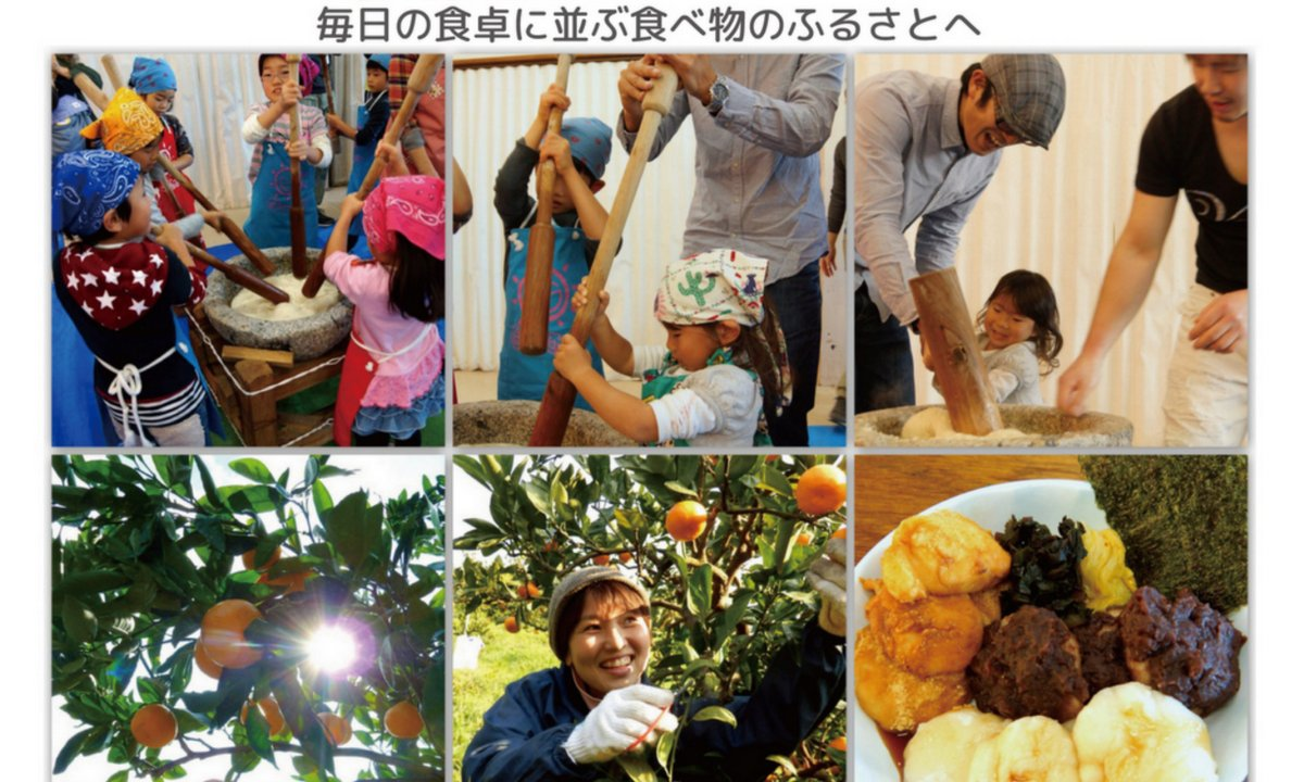 ふるさと村in春日山<br/>みかん狩りツアー・お餅つき