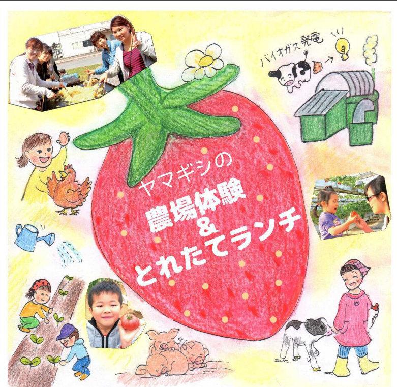 農場体験&とれたてランチ<br/>in春日山