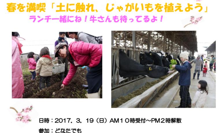 ふるさと村in北条<br/>じゃが芋を植えよう!